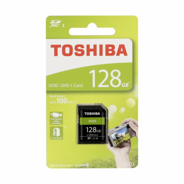 Toshiba SDXC Karte N203 128GB Exceria Ultra High Speed U1