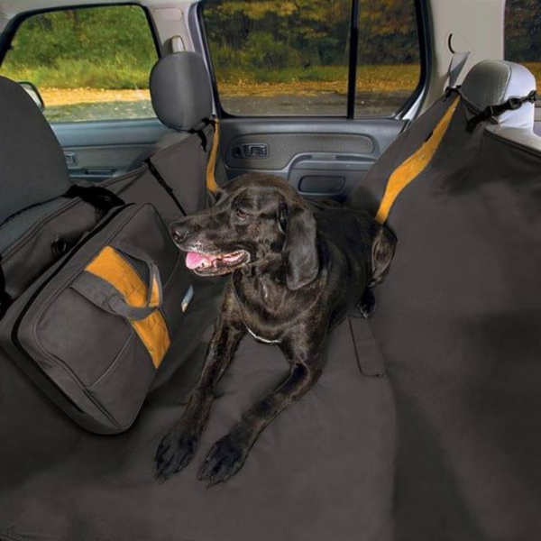Kurgo Ochranný potah na zadní sedadla Wander Hammock, typ hamaka, černá