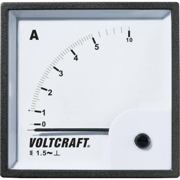 Analogové panelové měřidlo VOLTCRAFT AM-72X72/5A 5 A CONRAD