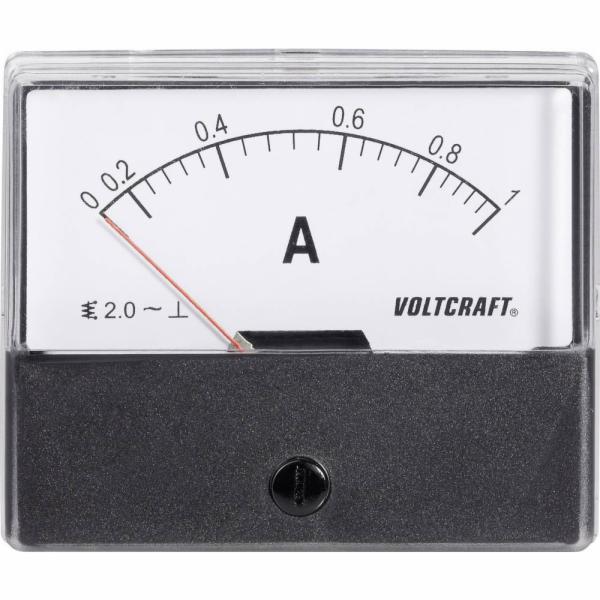 Analogové panelové měřidlo VOLTCRAFT AM-70X60/1A 1 A CONRAD