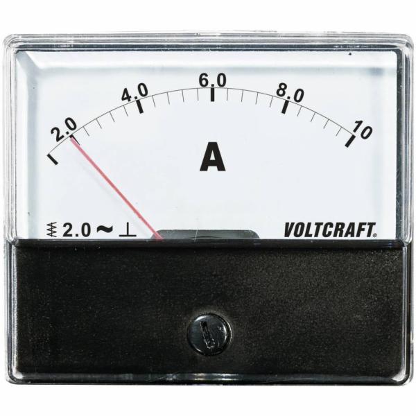 Analogové panelové měřidlo VOLTCRAFT AM-70X60/10A 10 A CONRAD