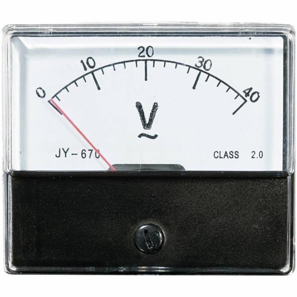 Analogové panelové měřidlo VOLTCRAFT AM-70X60/40V 40 V CONRAD