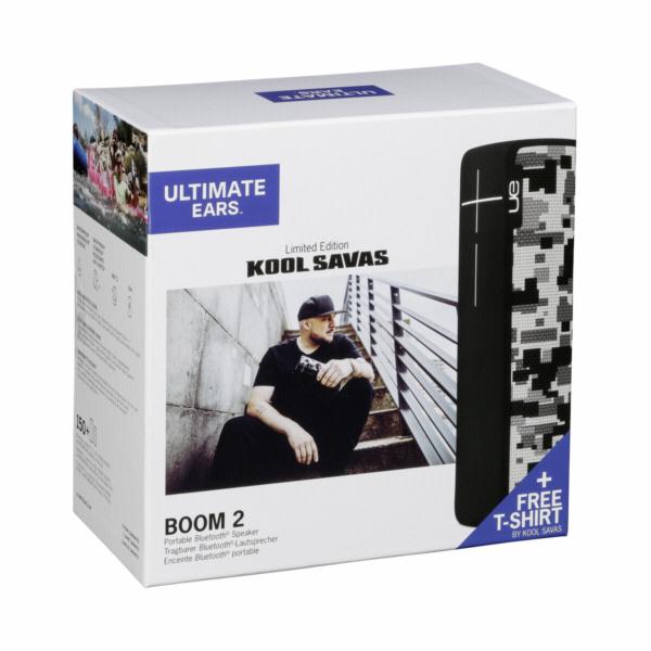 Ultimate Ears Boom 2 Kool Savas limit.edice + vc.tricka