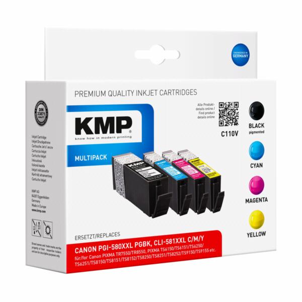 KMP C110V Multipack komp. s Canon PGI-580/CLI-581 XXL