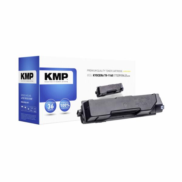 KMP K-T77 toner cerna kompatibilni s Kyocera TK-1160