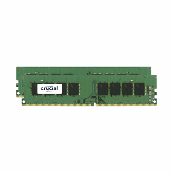 Crucial 8GB Kit DDR4 2666 MT/s 4GBx2 DIMM 288pin SR x8