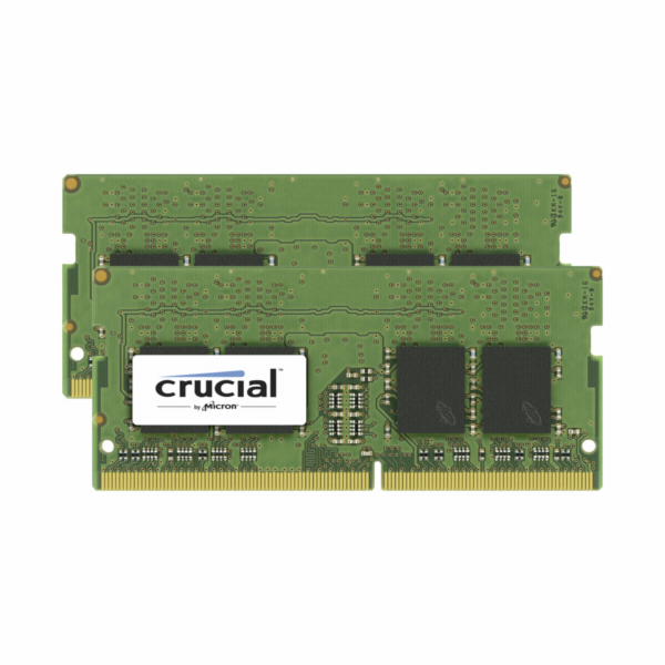 Crucial 8GB Kit DDR4 2666 MT/s 4GBx2 SODIMM 260pin SR x16 CL19