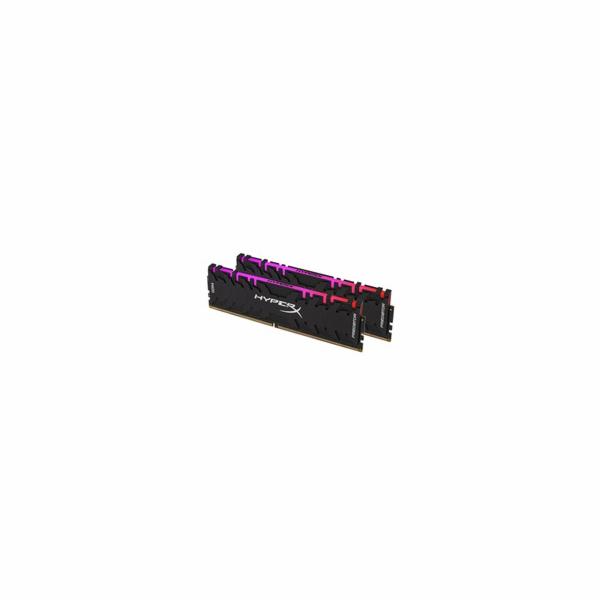 16GB DDR4-3000MHz HyperX Predator XMP CL15 RGB, 2x8GB