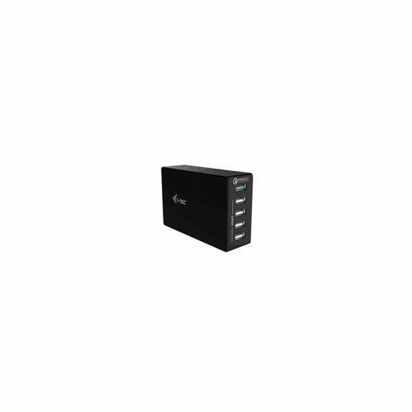 i-tec SMART USB 4 Port Charger 32W + USB QC 18W