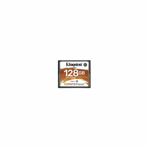 Kingston paměťová karta 128GB Canvas Focus (čtení/zápis: 150/130MB/s)