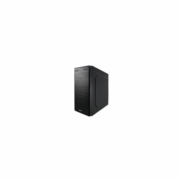 C-Tech OC-05 skříň, Midi Tower, černá, bez zdroje