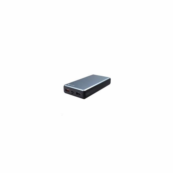 4smarts powerbanka VoltHub 18W & Quick Charge 3.0, 20000 mAh, černo-šedá