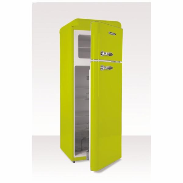 Chladnička Schneider SDD 208V2 LG zelená