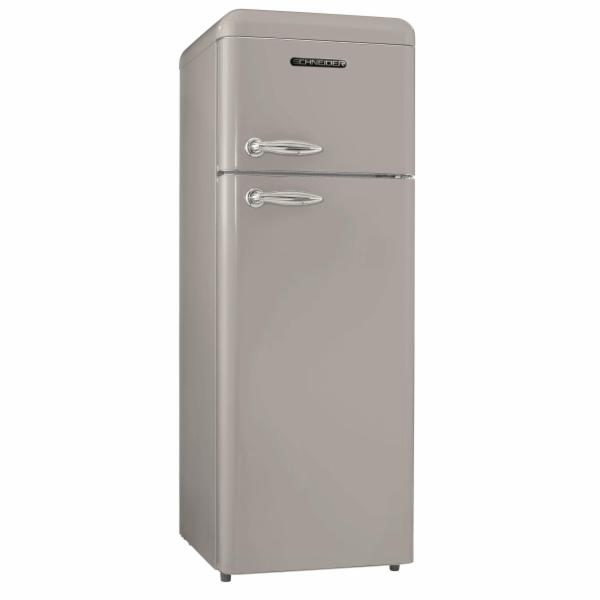 Chladnička Schneider SDD 208V2 S stříbrná