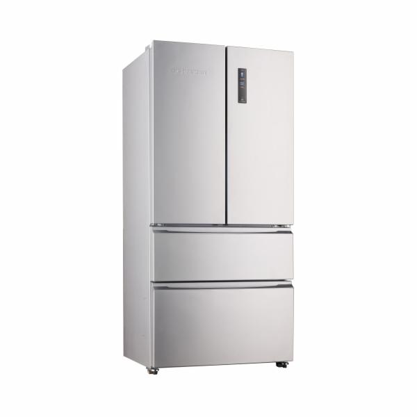 Chladnička Schneider SFD540NF SI stříbrná