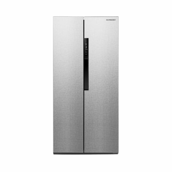 Chladnička Schneider SBS612.4A++CSS silver, stříbrná