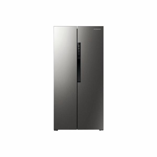 Chladnička Schneider SBS612.4A++BSS černá antracit