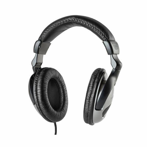 TV sluchátka Meliconi, HP 50, analogová, s 5 m kabelem pro připojení k TV
