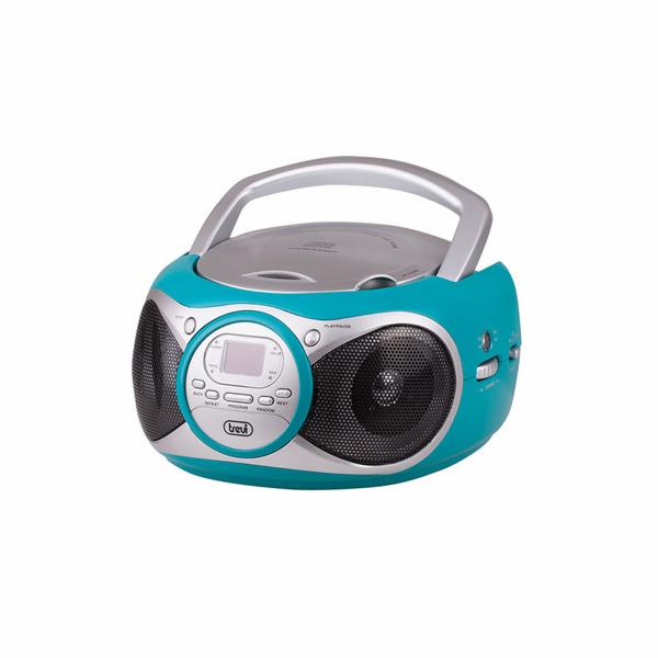 CD 512/TURQ Radiopřijímač s CD přehrávač