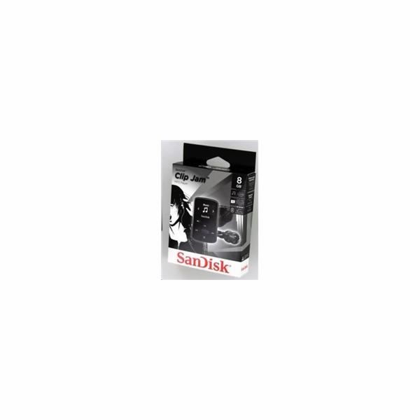 SanDisk Clip JAM 8GB cerna SDMX26-008G-G46K