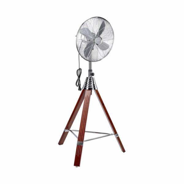 AEG VL 5688 S 40 cm Design Inox-drevo Stand ventilator