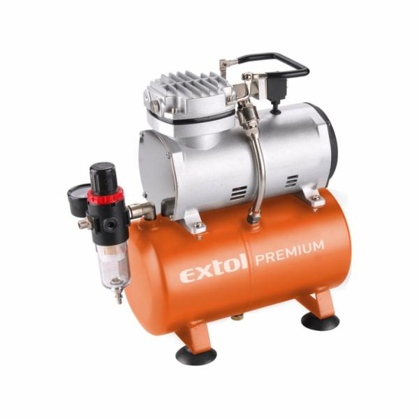 Kompresor, 150W, 3l EXTOL-PREMIUM