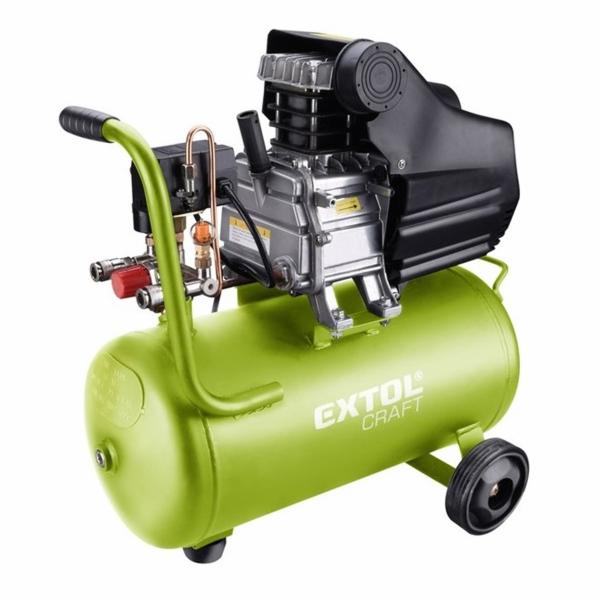 Kompresor olejový, 2800/min, 24l EXTOL-CRAFT