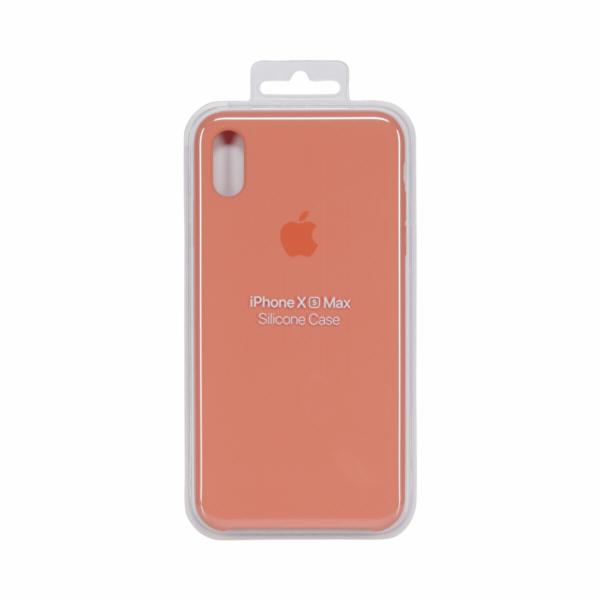 Apple iPhone XS Max Silicone Case Papaya