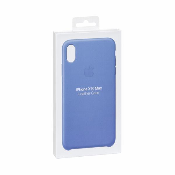 Apple iPhone XS Max Leather Case Cornflower
