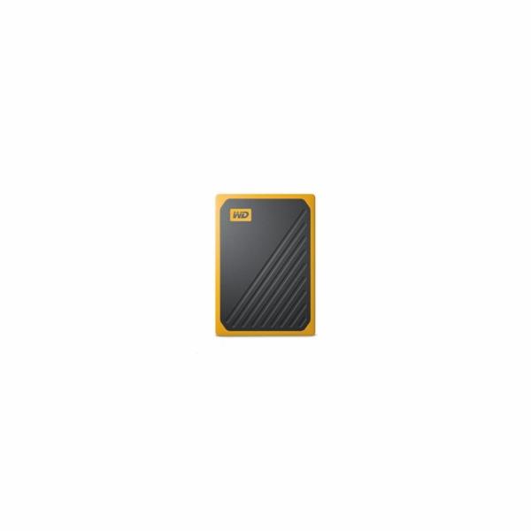 Western Digital MyPassp. Go 1TB Black w/Amber WDBMCG0010BYT-WESN