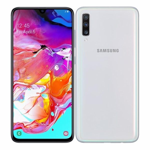 SM A705 Galaxy A70 128GB White SAMSUNG