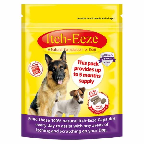 Itch-Eeze Přírodní prostředek proti svědění pro psy 50g