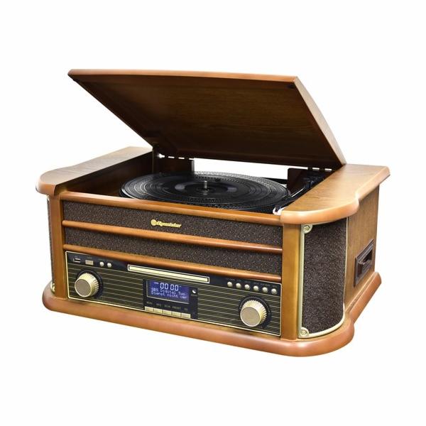 HIF-1993D+BT Retro věž, gramofon, DAB