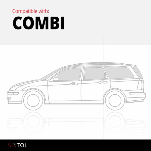Vana do kufru plastová Opel Astra H Caravan / Combi (04-) SIXTOL