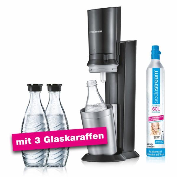 SodaStream Crystal 2.0 Promopack - titanová