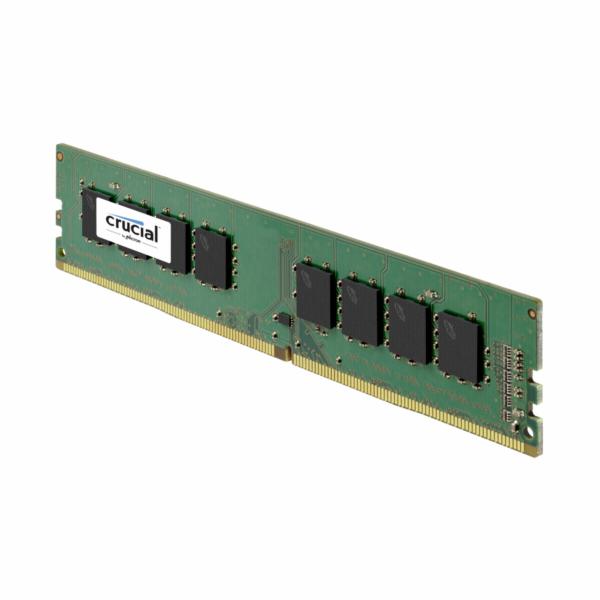 Crucial 4GB DDR4 2666 MT/s DIMM 288pin SR x8 unbuffered