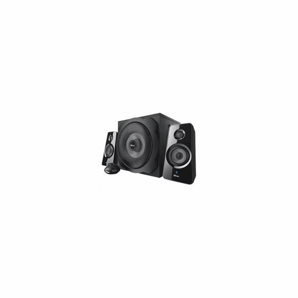 TRUST Reproduktory 2.1 Tytan Subwoofer Speaker Set, Bluetooth - black, černá