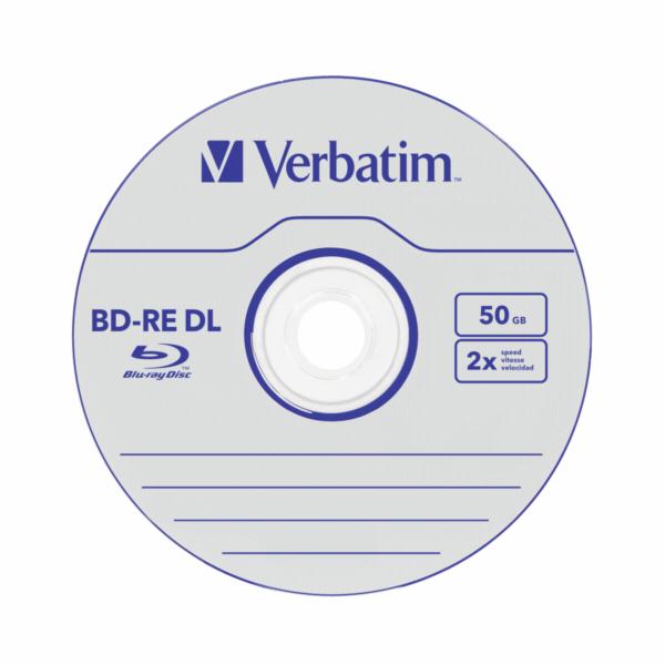 VERBATIM BD-RE DL (5-pack)Blu-Ray/Jewel/2x/50GB