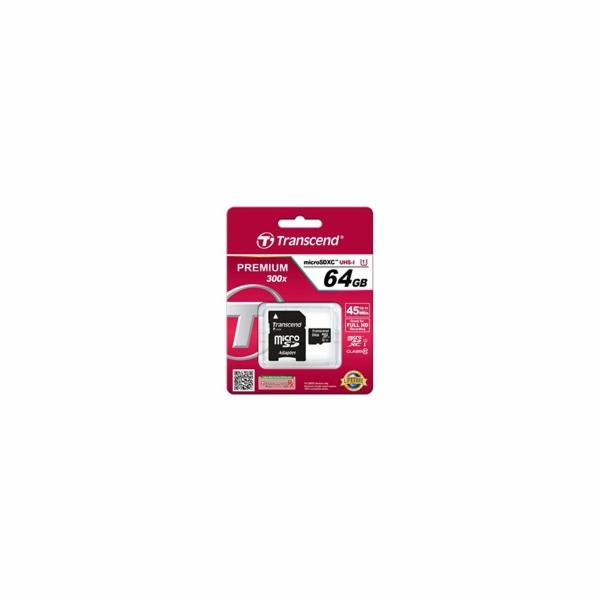 microSDXC Card 64 GB Premium, Speicherkarte