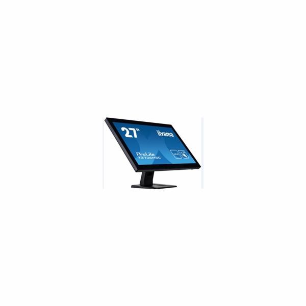 "27"" LCD iiyama T2736MSC-B1 - 4ms, 300cd/m2, HDMI, VGA, DP, USB,"