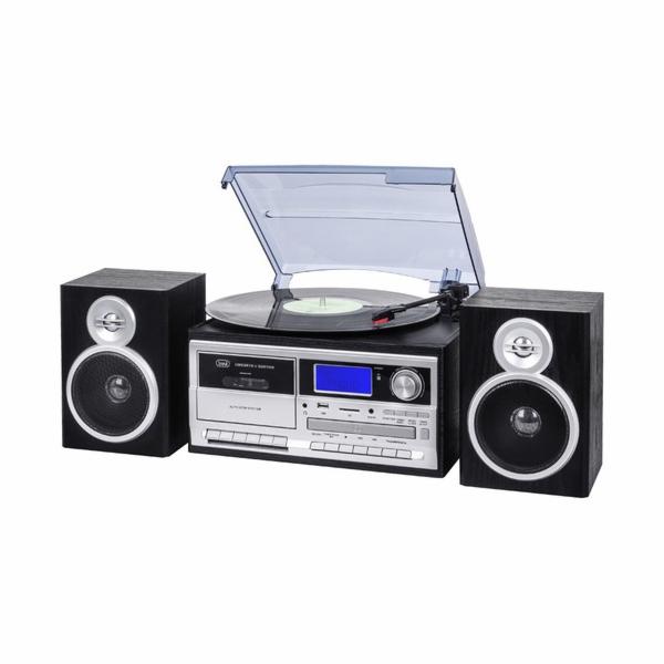 TT 1070 E/BK Gramofon+radio+BT, černá
