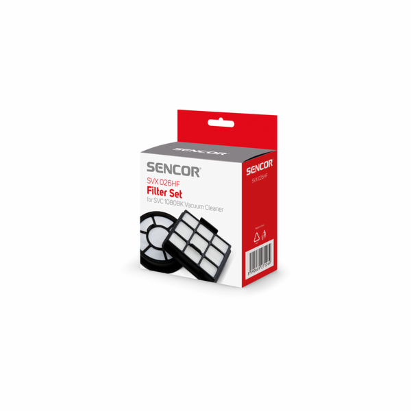 SVX 026HF sada filtrů SVC 1080BK SENCOR