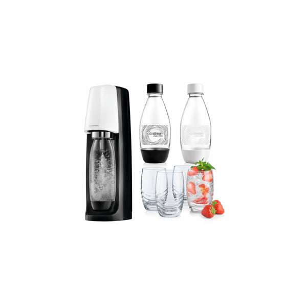 sada Spirit B&W Promo perlivá voda SODA