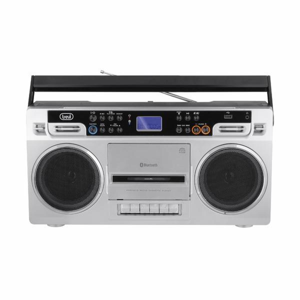 RR 504BT/SL Radiomagnetofon,USB/SD/MP3/B