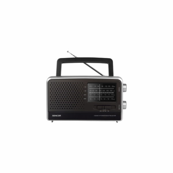 SRD 2806 FM/AM/SW1/SW2 RÁDIO SENCOR