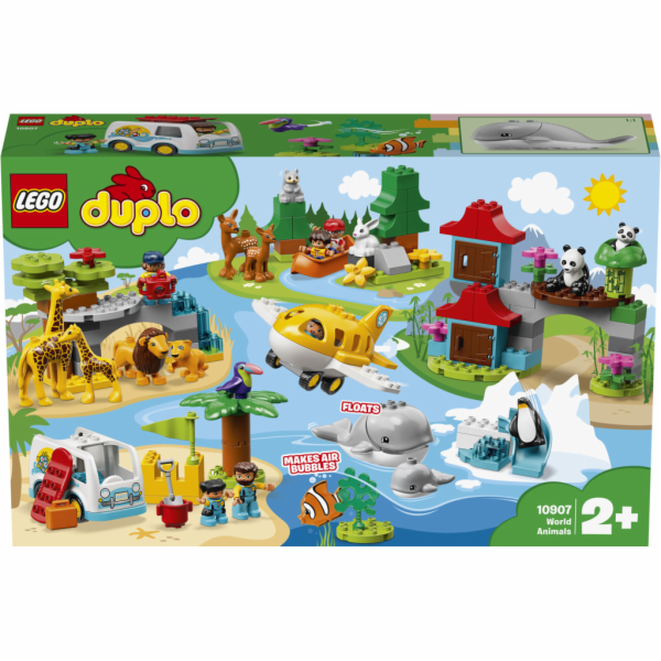 Lego Duplo Town Zvířata světa