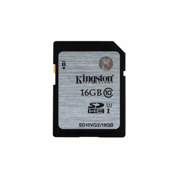 KINGSTON 16GB SDHC Class10 UHS-I 45MB/s Read Flash Card