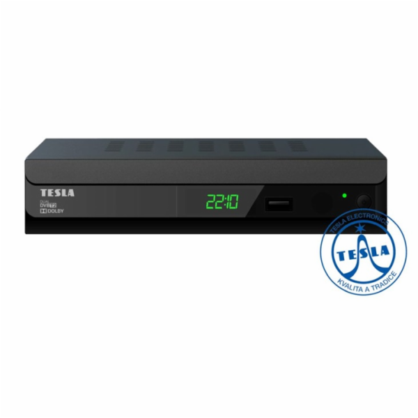 DVB-T přijímač Tesla Duplex T2 - Dual DVB-T2 H.265 (HEVC) - ROZBALENO