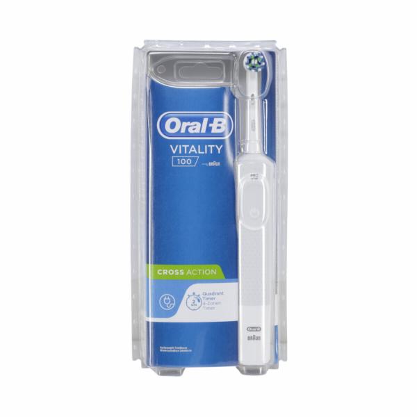 Braun Oral-B Vitality 100 bila CrossAction CLS