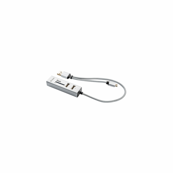 YHC 103SR USB C OTG HUB+čtečka YENKEE